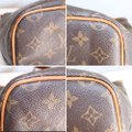 Louis Vuitton Lv Palermo Pm Tote Satchel in Brown, brass Image 10