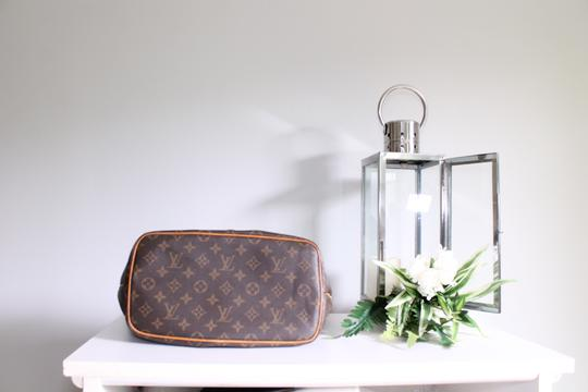 Louis Vuitton Lv Palermo Pm Tote Satchel in Brown, brass Image 6