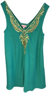 Lilly Pulitzer Embroidered Party Dress
