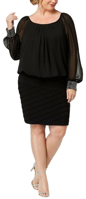 Preload https://img-static.tradesy.com/item/25431896/betsy-and-adam-black-betsy-and-adam-women-pleated-neck-long-beaded-sleeve-mid-length-workoffice-dres-0-1-650-650.jpg