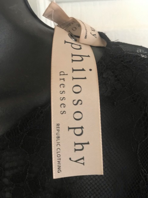 Philosophy Dress short dress black on Tradesy Image 5