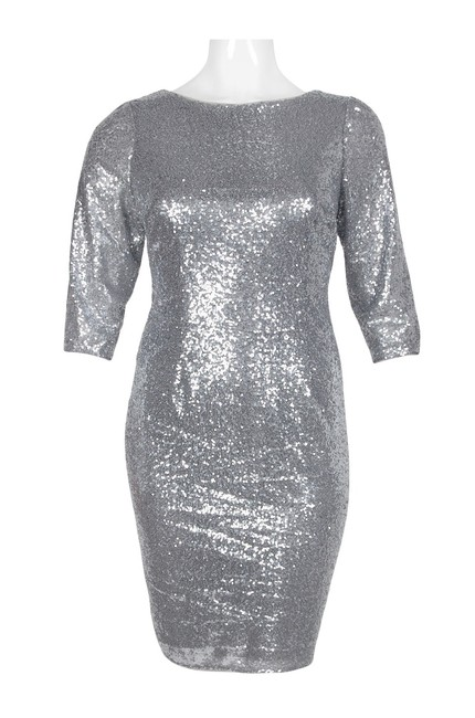 Adrianna Papell Sequin Dress Image 2