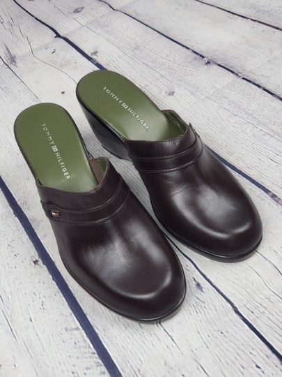 Tommy Hilfiger brown Mules Image 1