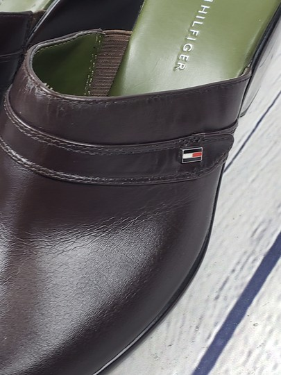 Tommy Hilfiger brown Mules Image 2