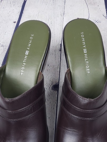 Tommy Hilfiger brown Mules Image 4