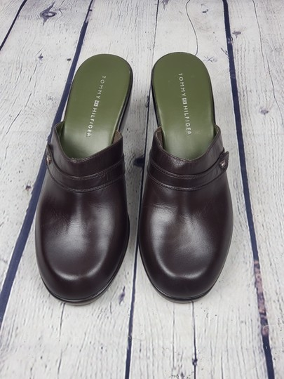 Tommy Hilfiger brown Mules Image 7