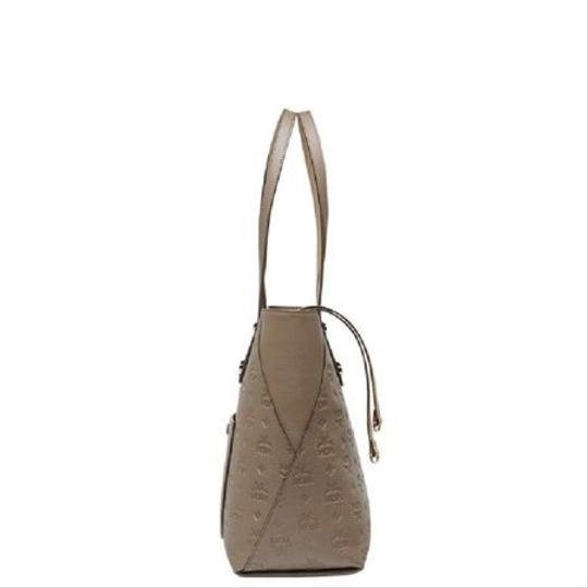 MCM Tote in taupe Image 6