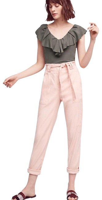 Preload https://img-static.tradesy.com/item/25432071/anthropologie-pale-pink-paper-bag-waisted-joggers-pants-size-0-xs-25-0-2-650-650.jpg