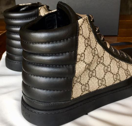 Gucci Black and Brown Athletic Image 2