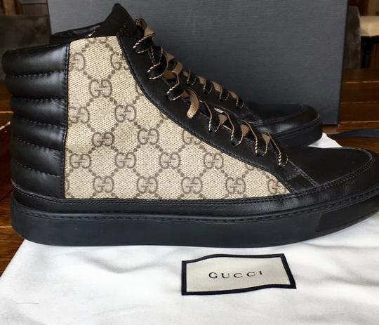 Gucci Black and Brown Athletic Image 4