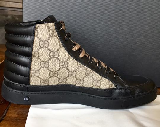 Gucci Black and Brown Athletic Image 5