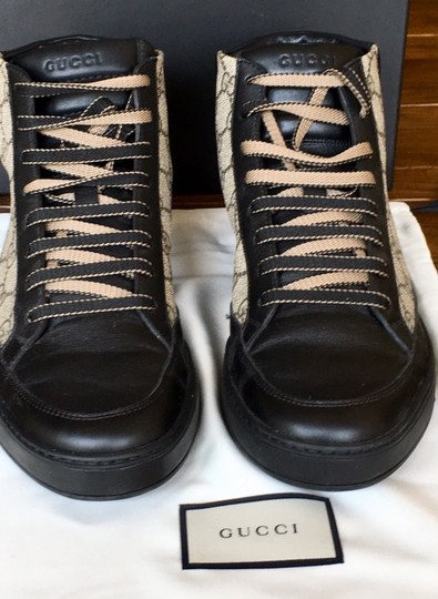 Gucci Black and Brown Athletic Image 6