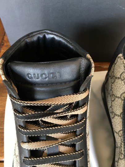 Gucci Black and Brown Athletic Image 7