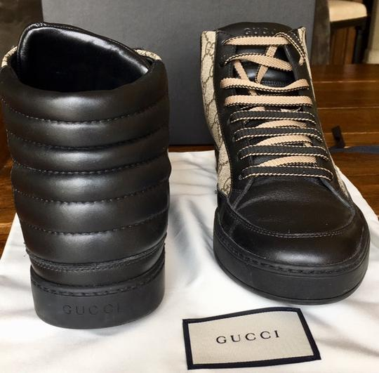 Gucci Black and Brown Athletic Image 9