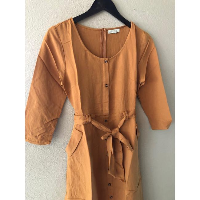 camel Maxi Dress by Polagram Image 5