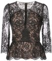 Marchesa Notte Top black/nude Image 0