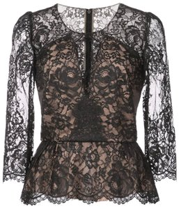 Marchesa Notte Top black/nude