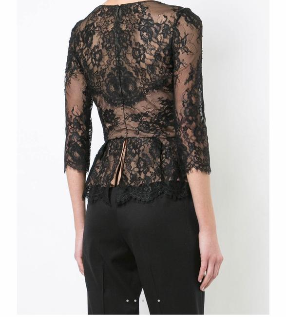 Marchesa Notte Top black/nude Image 2