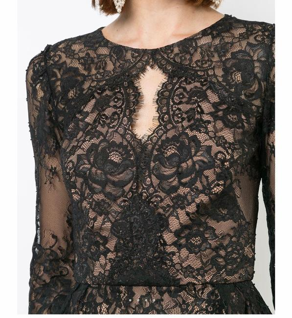 Marchesa Notte Top black/nude Image 3