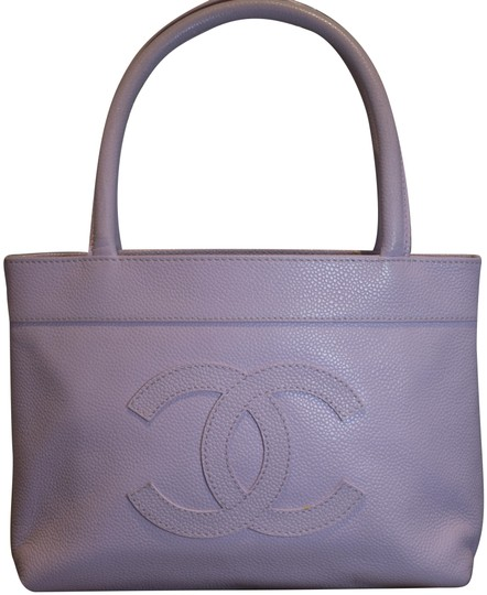 Chanel Tote in Purple Image 0