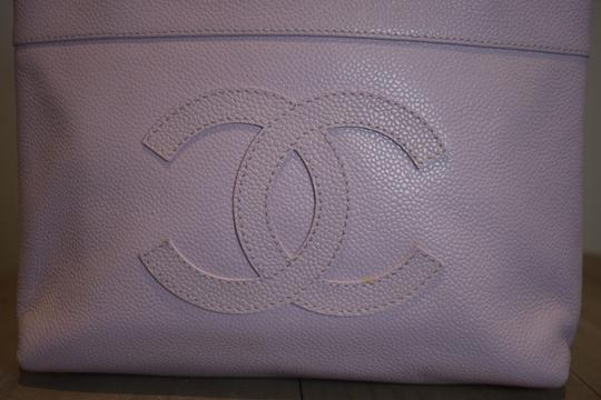Chanel Tote in Purple Image 1