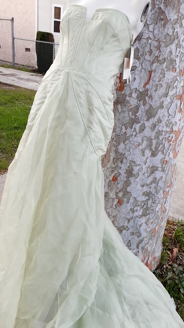 Item - Mint Green Silk Harper Destination Wedding Dress Size 6 (S)