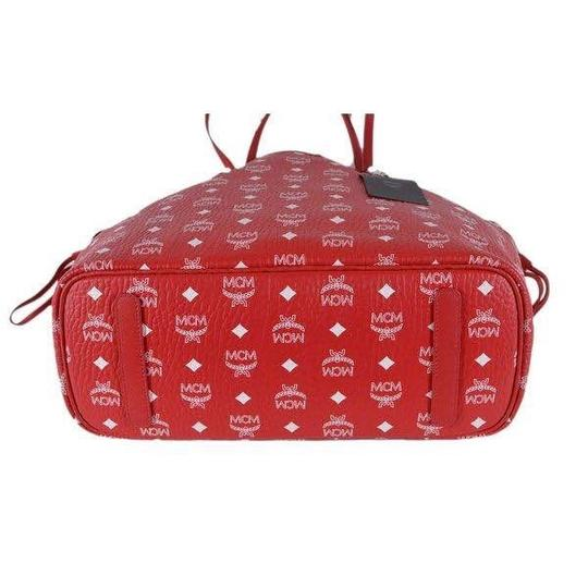 MCM Tote in red Image 2