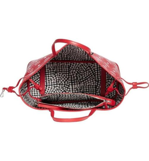 MCM Tote in red Image 6