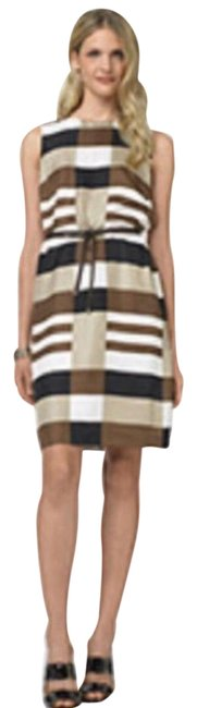 Preload https://img-static.tradesy.com/item/25432242/tory-burch-brown-silk-short-casual-dress-size-6-s-0-1-650-650.jpg
