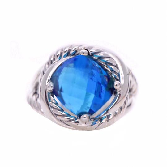 Preload https://img-static.tradesy.com/item/25432342/david-yurman-infinity-o-blue-topaz-ring-0-1-540-540.jpg