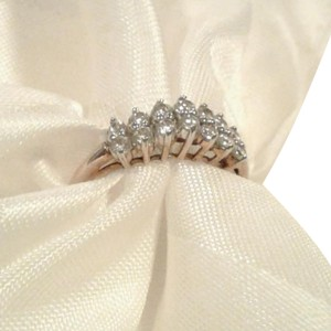 Ross-Simons 10K 0.98 Carat CZ Cathedral Setting Solitairs Engagement Promise Wedding Ring