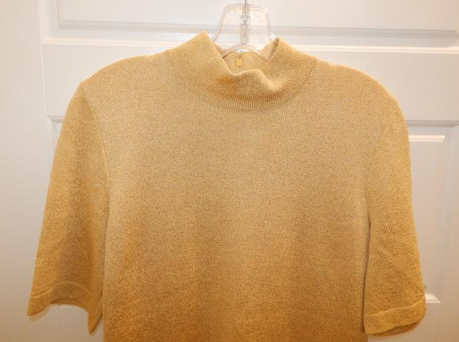 St. John Metallic Knit Sweater Image 10