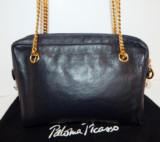 Paloma Picasso Chain Leather Cross Body Bag Image 7