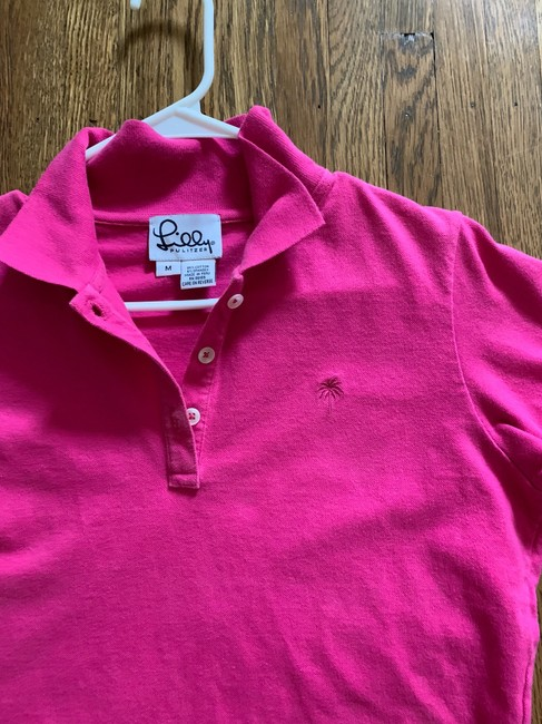 Lilly Pulitzer Button Down Shirt Pink Image 2