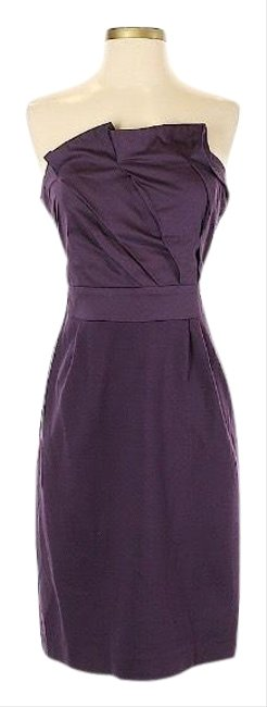 Preload https://img-static.tradesy.com/item/25432469/anthropologie-purple-deletta-strapless-mid-length-short-casual-dress-size-8-m-0-1-650-650.jpg