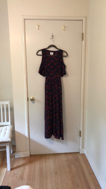Blue, Red Maxi Dress by Madewell Image 1