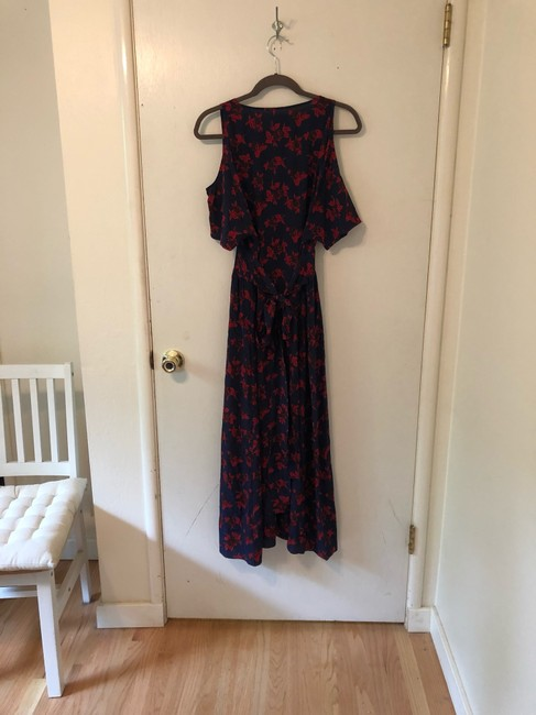 Blue, Red Maxi Dress by Madewell Image 4