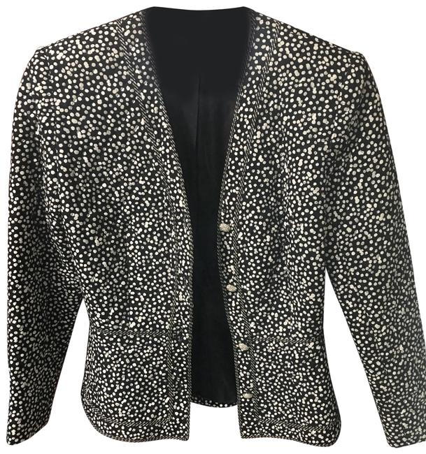 Preload https://img-static.tradesy.com/item/25432523/rickie-freeman-for-teri-jon-black-and-white-silk-blazer-size-4-s-0-1-650-650.jpg