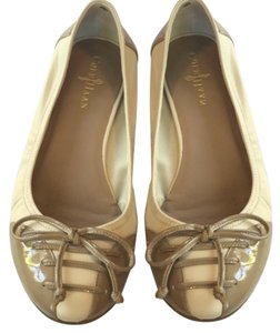 Cole Haan Cream & Tan Flats