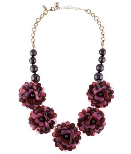 Kate Spade NEW Rosy Outlook Statement Necklace Image 2
