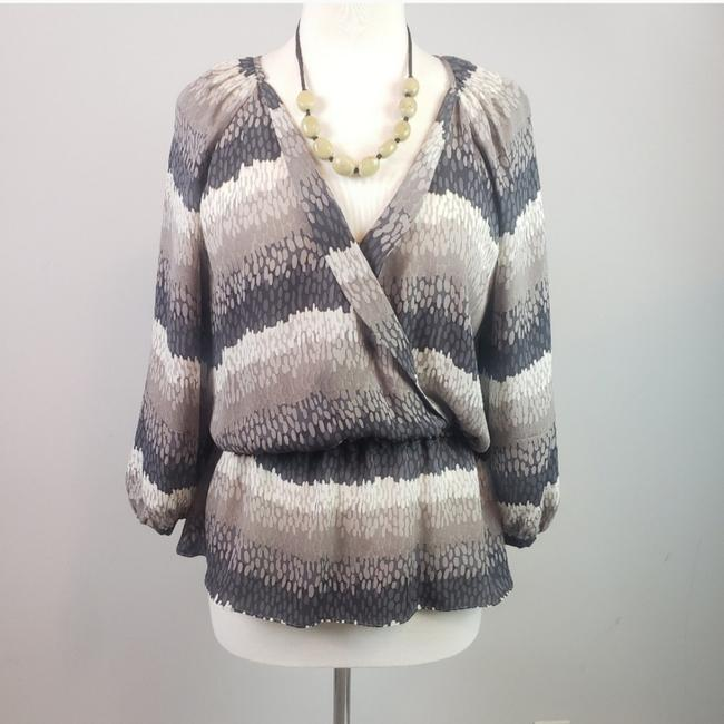 Preload https://item4.tradesy.com/images/parker-cream-gray-grey-taupe-blouse-size-12-l-25432648-0-0.jpg?width=400&height=650