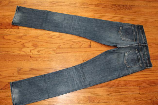Citizens of Humanity Straight Leg Jeans-Medium Wash Image 1