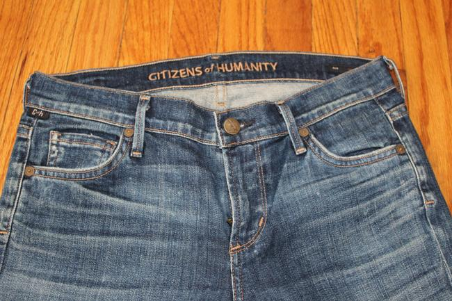 Citizens of Humanity Straight Leg Jeans-Medium Wash Image 2
