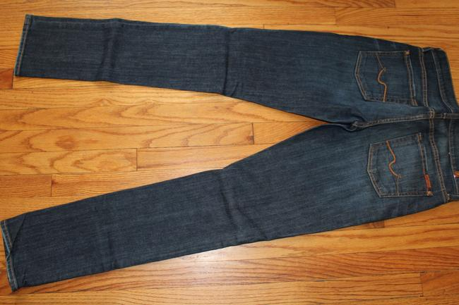 7 For All Mankind Straight Leg Jeans-Dark Rinse Image 2