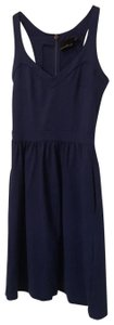 Cynthia Rowley short dress dark royal blue on Tradesy