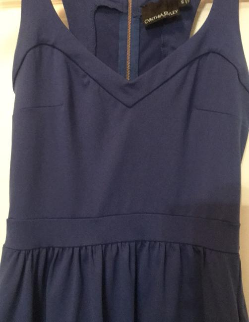 Cynthia Rowley short dress dark royal blue on Tradesy Image 3