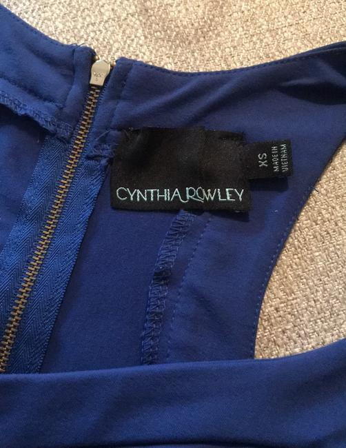 Cynthia Rowley short dress dark royal blue on Tradesy Image 4