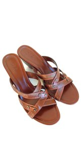 Cole Haan Brown Leather Sandals