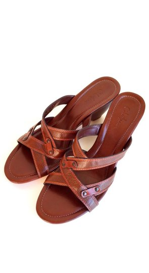 Cole Haan Brown Leather Sandals Image 4