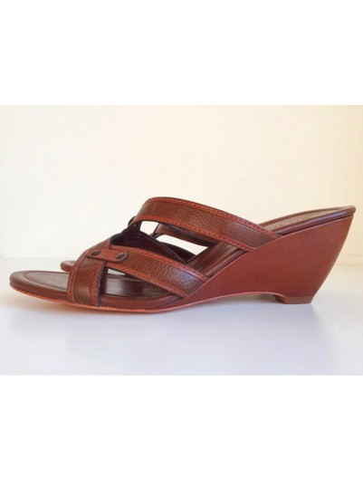 Cole Haan Brown Leather Sandals Image 6